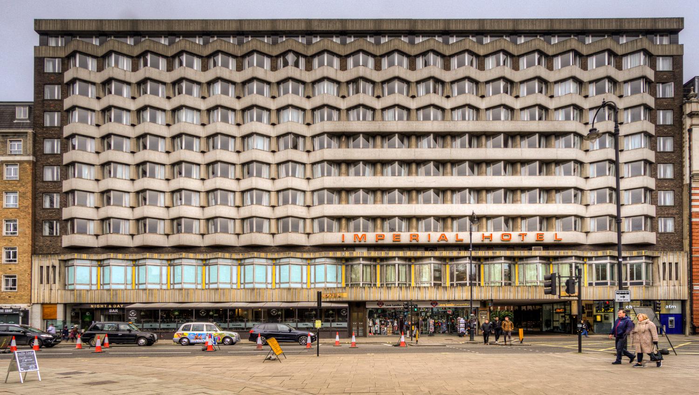 Imperial Hotel, C. Lovett Gill & Partners 1966C–1970