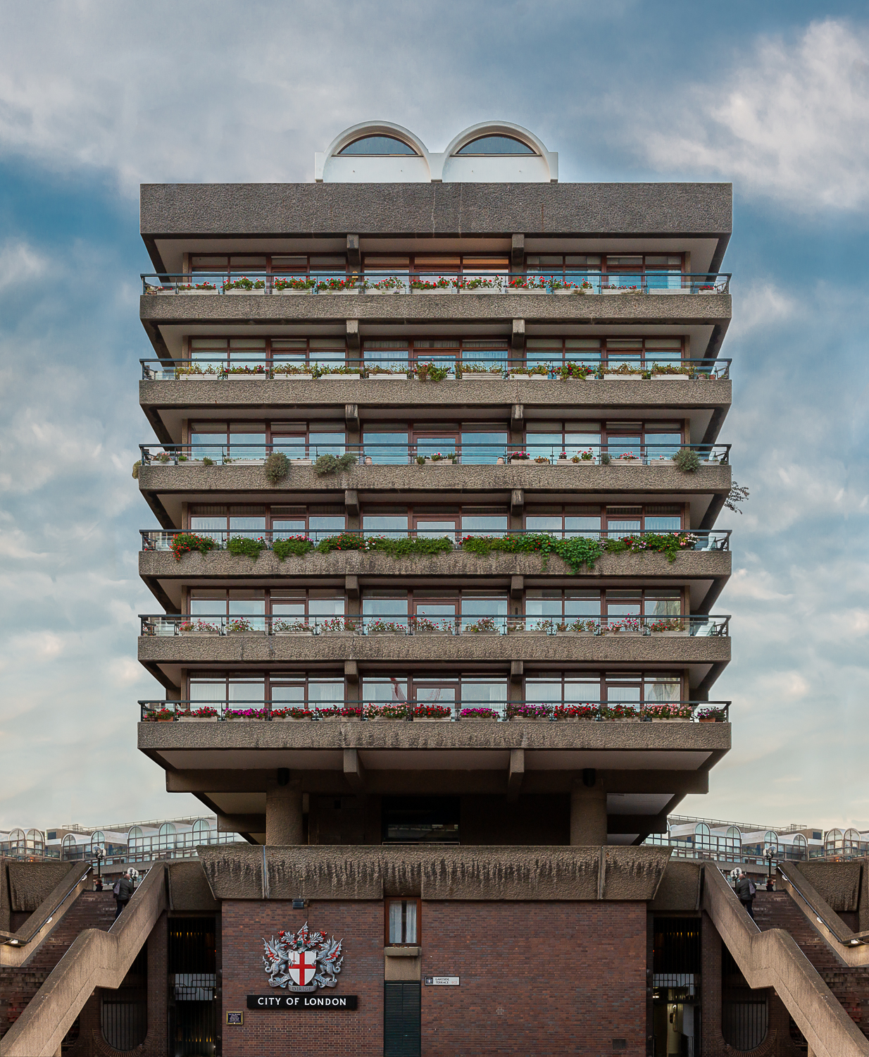 Defoe House, Barbican Estate - Isolated